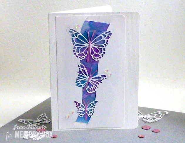 MemoryBoxButterflySwell-MemoryBoxMorningGardenButterflies-JeanOkimoto-BlogBlitz-WatercoloredCards-ButterflyCards-WatercoloredButterflyCards-ImpressCardsAndCrafts