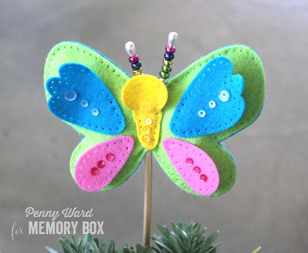Plush-butterfly