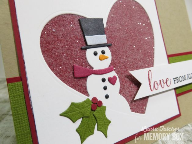 Love Sentiments clear stamp set