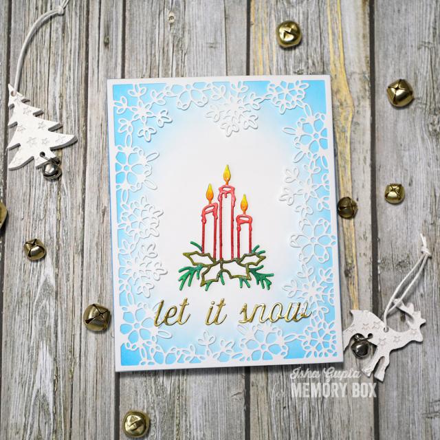 Let It Snow Perky Script