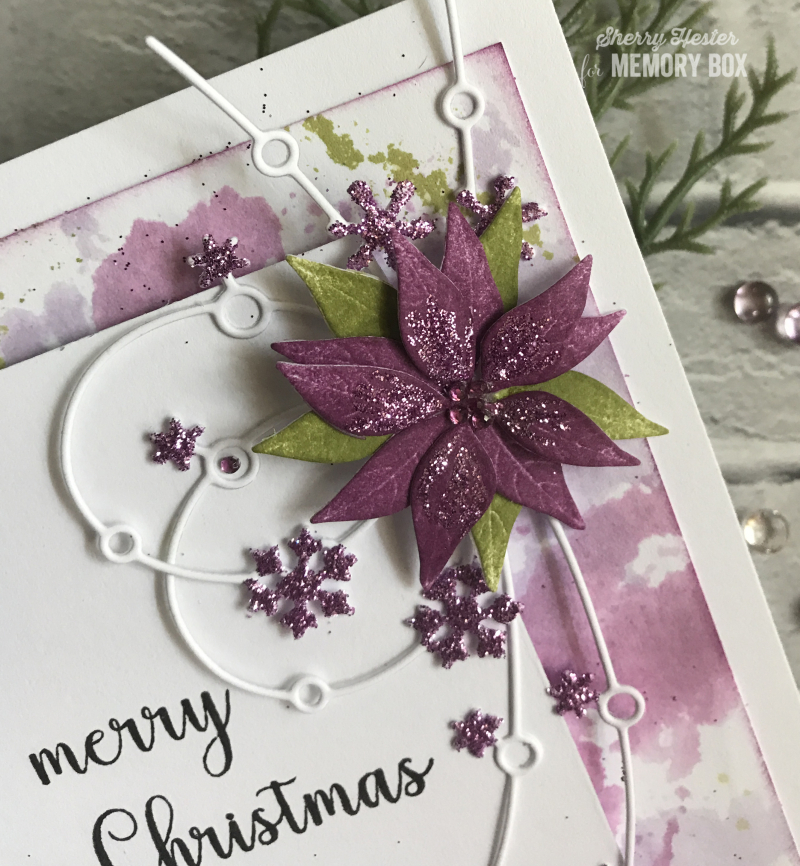 Snowflakes and Poinsettia - 3