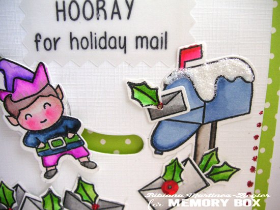 Slider letters detail mailbox
