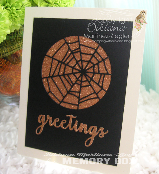 Halloween copper web last