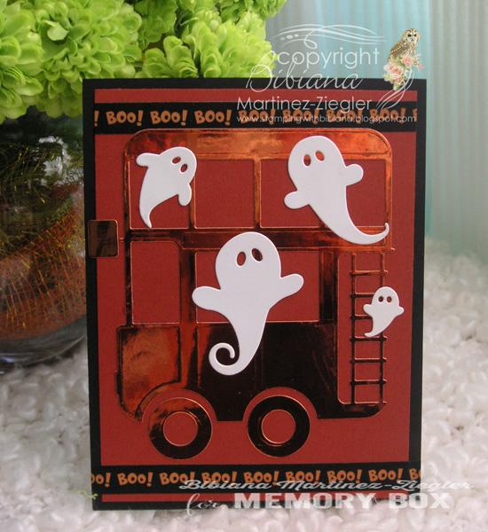 Halloween bus front