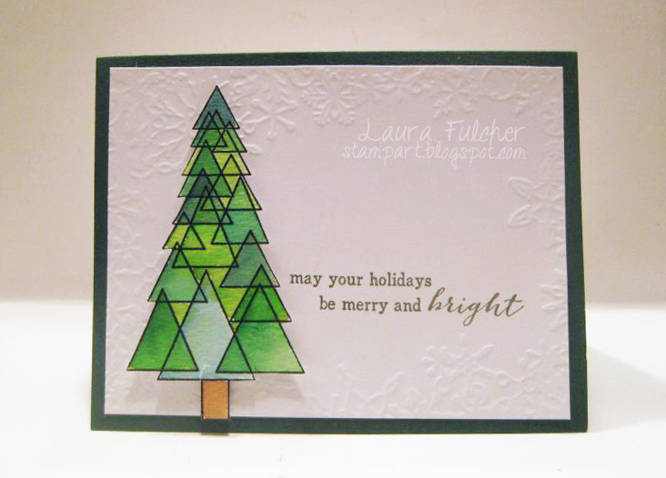 Watercolor Christmas Cards.Peerless Watercolor Christmas Card Outside The Box