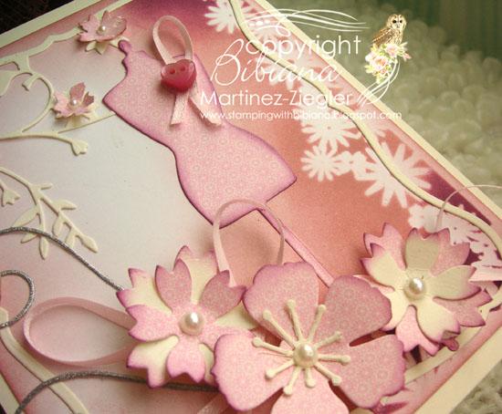Pink oct dress detail