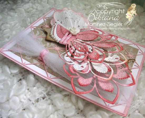 Pink dress form flat