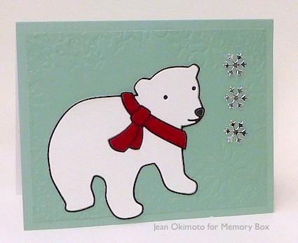 MemoryBox-BundledBear-SnowflakeHeart-FlurryFrameDesignerStencil-JeanOkimoto-Christmas
