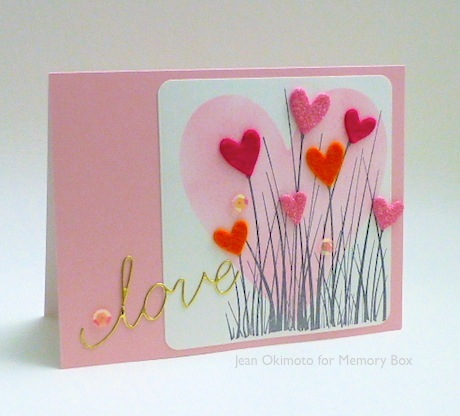 MemoryBox-LargeCattails-GrandHeart-MiniHeartCollection-JeanOkimotoTechniques-ImagineCrafts-MementoLuxe-Valentines