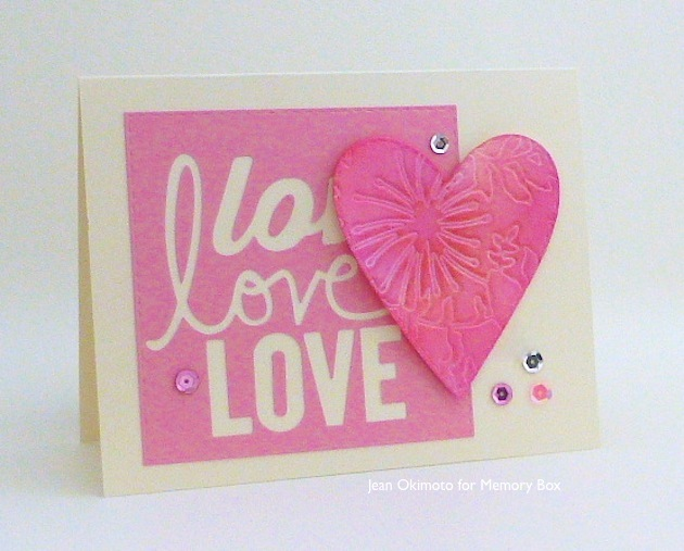 MemoryBox-MemoryBoxOpenStudio-TanglewoodFrame-AllAboutTheLove-StitchedHeartLayers-StitchedSquareLayers-JeanOkimoto-Valentines-ImagineCrafts-Brilliance