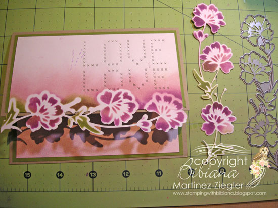 Edge flower love step 4