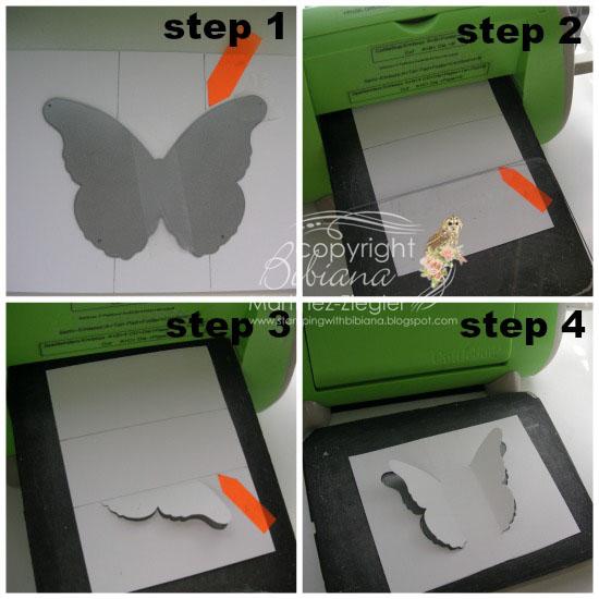 Black butterfly 4 steps