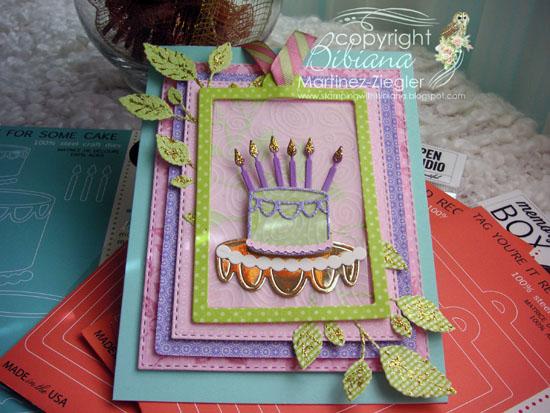 Bday cake last