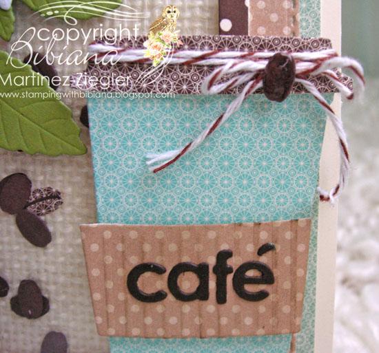 Cafe detail mug