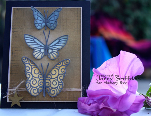Butterfly Card- His