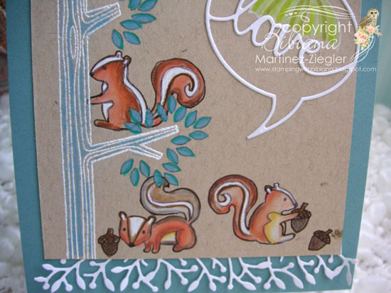PPS squirrel stamp detail