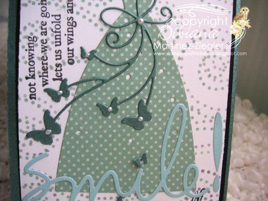 Dress stencil detail
