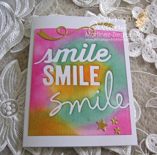 Smile flat
