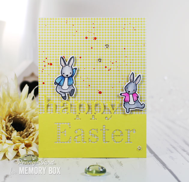 Easter Bunnies by Penny Outside The Box – Easter Stamps Card Making