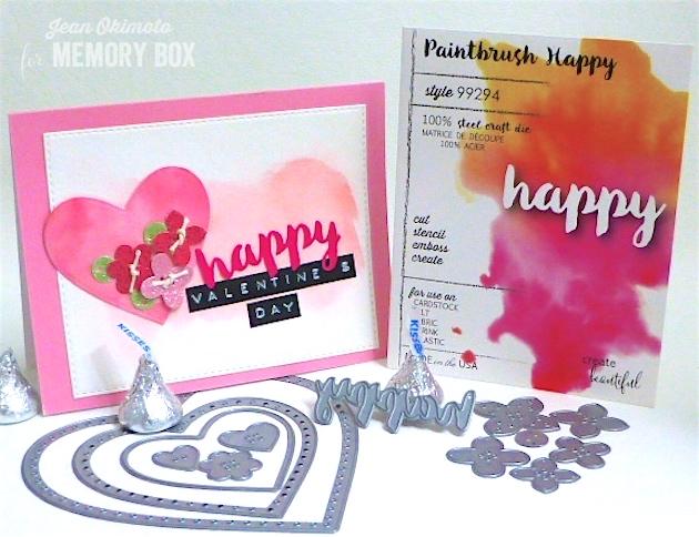 MemoryBoxPlushFolkHearts-MemoryBoxPlushFlowerButtons-MemoryBoxPaintbrushHappy-OpenStudioStitchedRectangleLayers-JeanOkimoto-PeerlessWatercolors-3MDuctTape