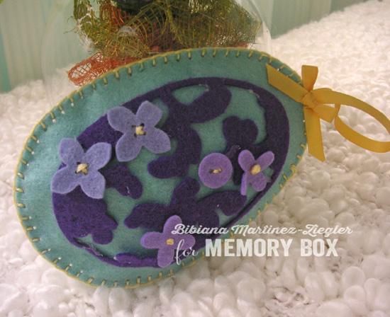 Egg purple side
