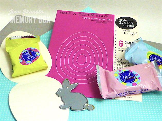 MemoryBoxSketchBunnyBackground-MemoryBoxHalfADozenEggs-JeanOkimoto-Felt-Easter-PartyFavors