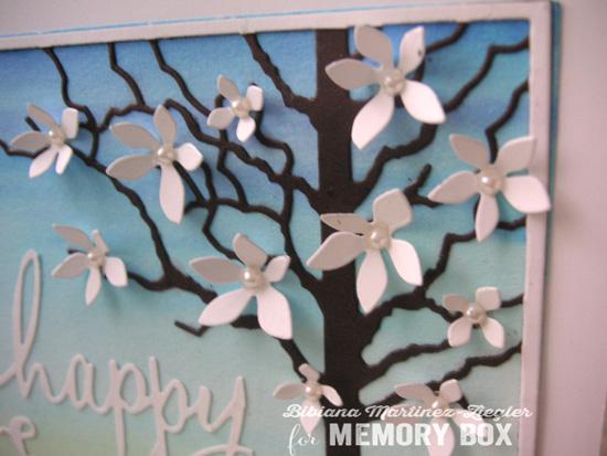 Easter scene detail flowers