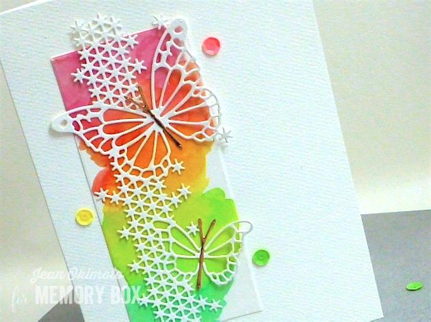 MemoryBoxSilverSpringsButterfly-MemoryBoxFairylandButterflies-JeanOkimoto-PeerlessWatercolors-RubberStampFantasy