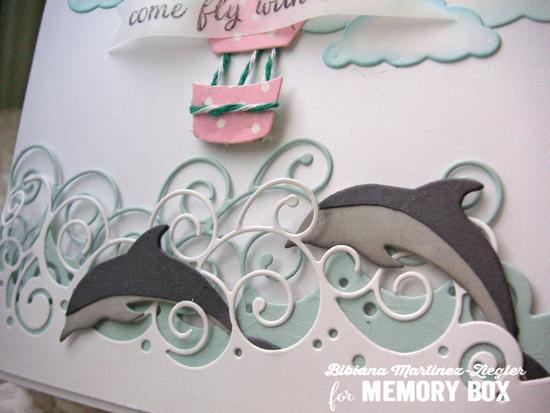 Air balloon detail dolphins