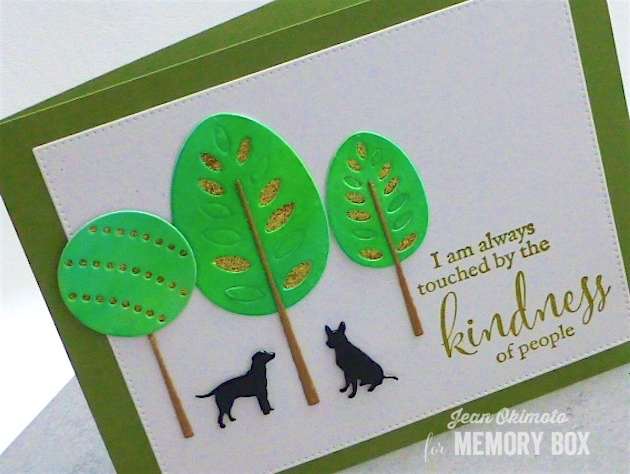 MemoryBoxTorranceTrees-MemoryBoxPartyTrees-MemoryBoxKindness-MemoryBoxOpenStudioPinpointRectangleLayers-VersaFine-PeerlessWatercolors