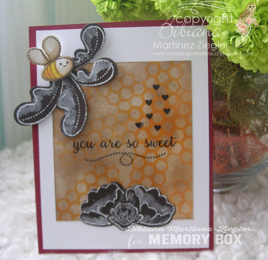 Bee glossy front 1