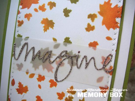 Stencil autumn detail 2
