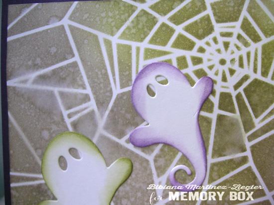 Halloween stencil detail