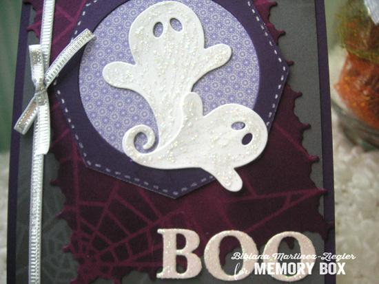 Halloween ghost detail
