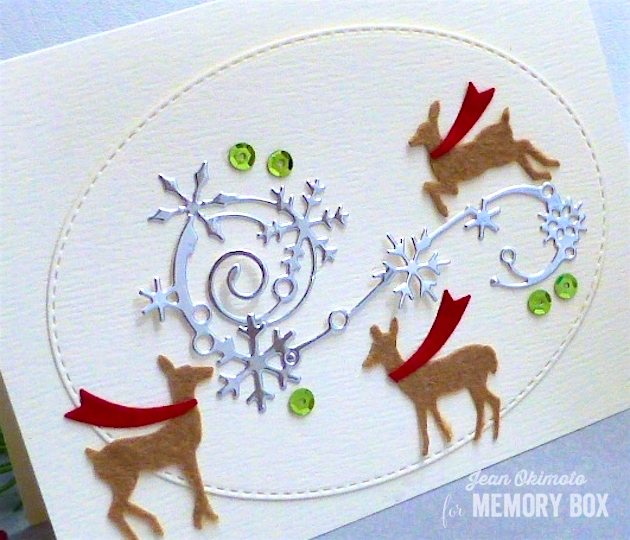 MemoryBoxElegantSnowflakeFlourish-MemoryBoxValleyDeerTrio-MemoryBoxOpenStudioStitchedRectangleLayers-MemoryBoxOpenStudioTrulyGifted-JeanOkimoto