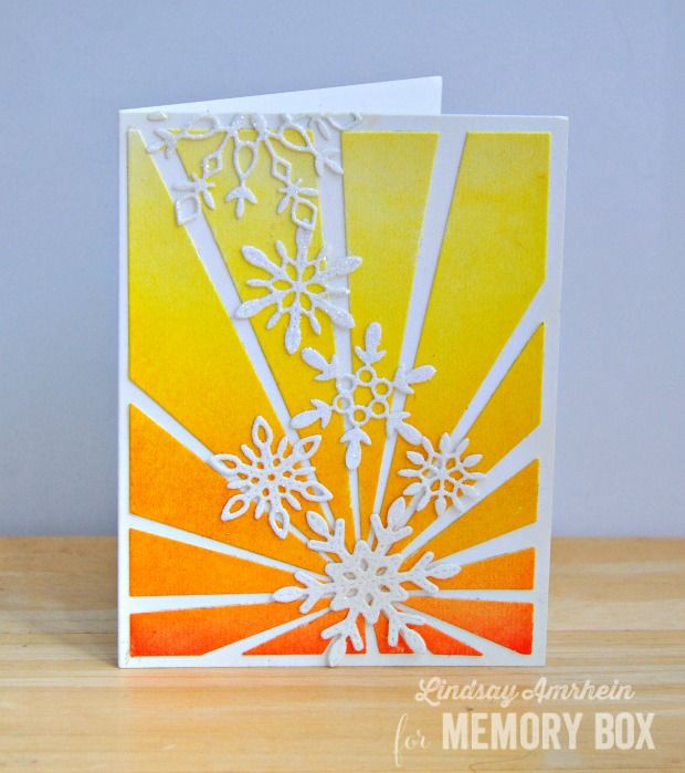 Delicate Stitched Snowflakes