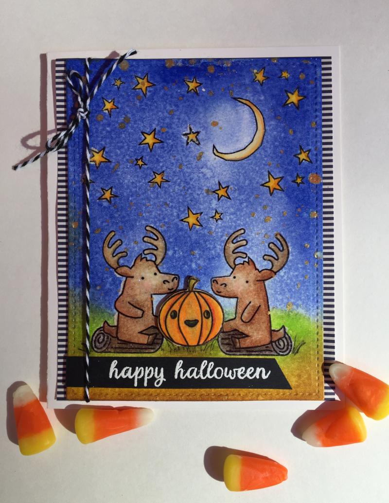 Moose halloween