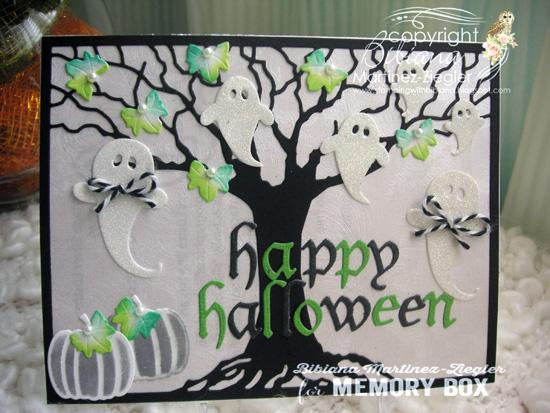 Halloween oak front