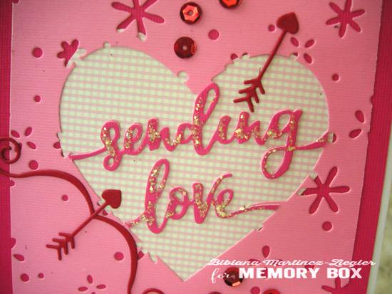 Val sending love detail