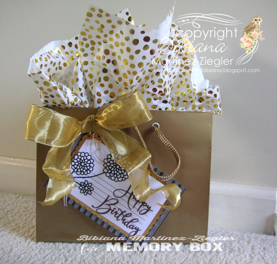 H'bday gift tag package last