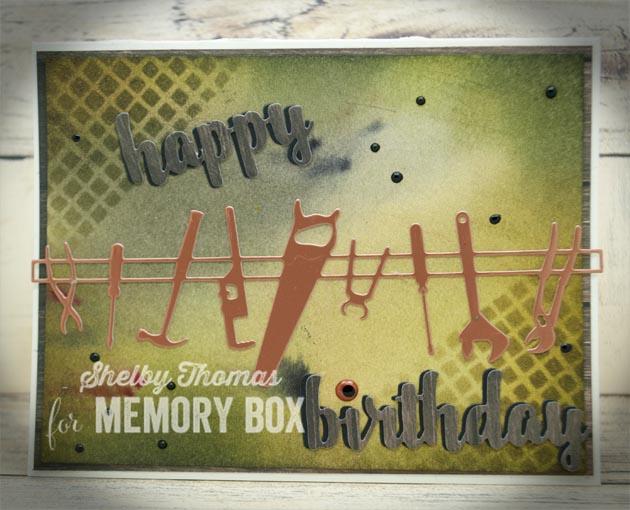 Happy Birthday Upright Script