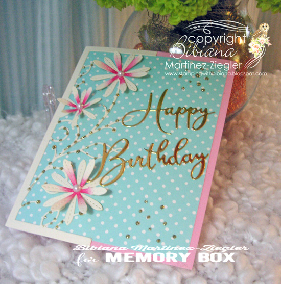 H'bday turquoise pink last