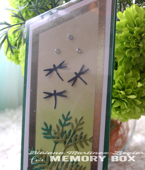 Bookmark st patricks detail dragonflies