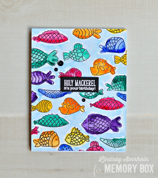 Fish Tales clear stamp set
