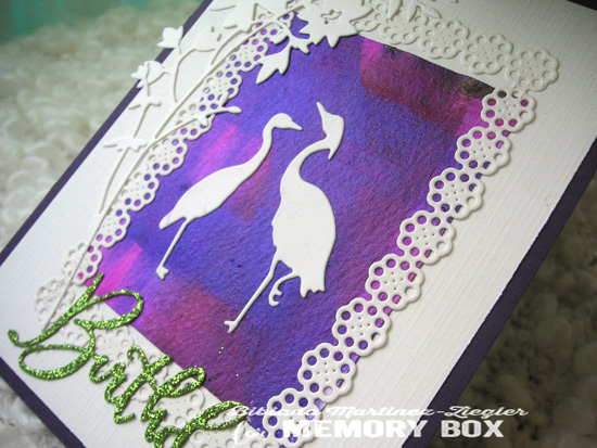 Painted bckgrd crane detail