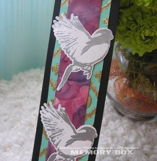 Bookmark bird detail