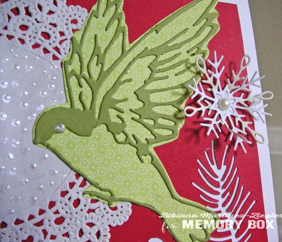 Xmas green bird last