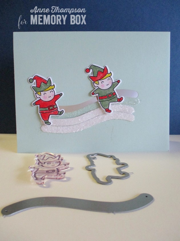 Playtime Elves clear stamp set