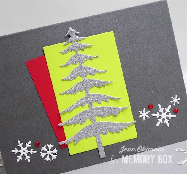 MemoryBoxSnowyPine-MemoryBoxSnowdriftBreeze-MemoryBoxRectangleBasics-MemoryBoxSliderGrooves-JeanOkimoto-MemoryBoxChristmasCards-DiecutChristmasCards-DiecutGiftcutHolder