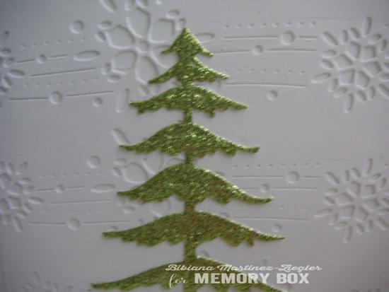 Xmas tree green detail